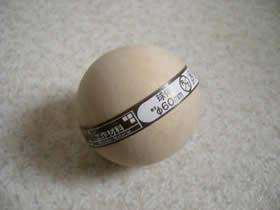 木製のボール
